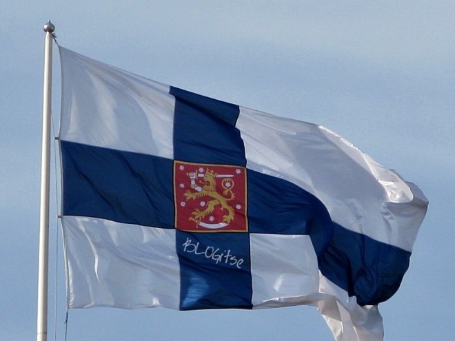 State flag of Finland