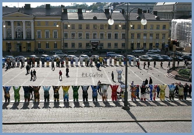 United Buddy Bears tour in Helsinki, Finland 2010