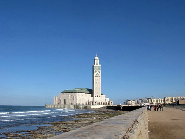 Hassan II Mosque Casablanca, Morocco by BLOGitse