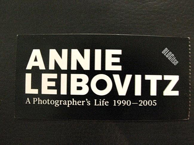 Annie Leibovittz in MCA Sydney Australia