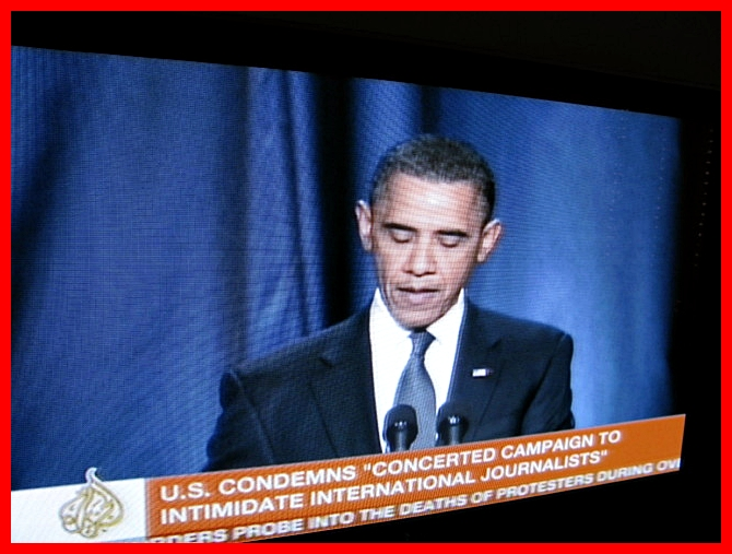 Obama speaks about situation in Egypt 3.2.2011