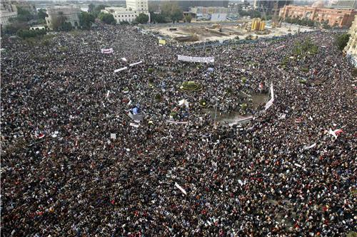 Tahrir Square Cairo by reuters