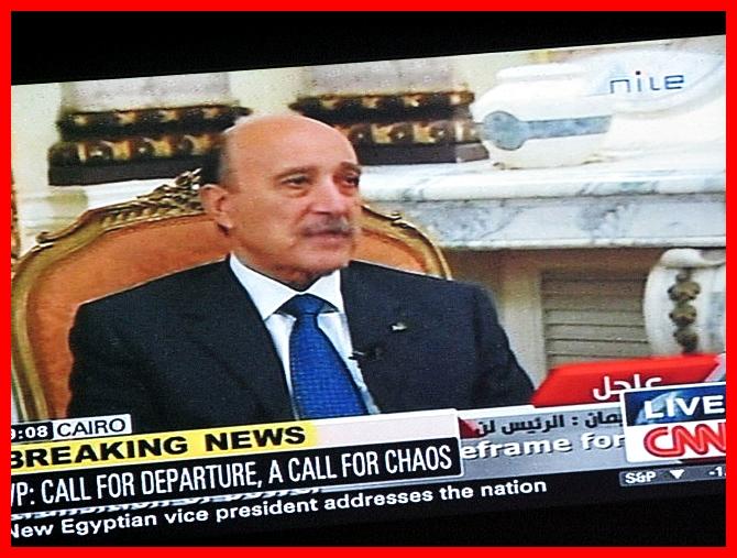vice president Omar Suleiman Cairo 3.2.2011