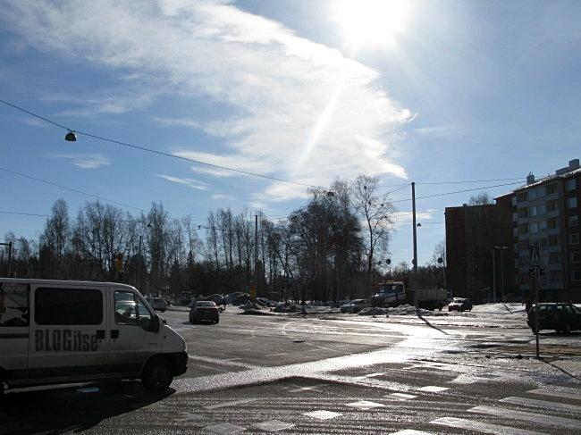 Helsinki sun 18.3.2011 by BLOGitse