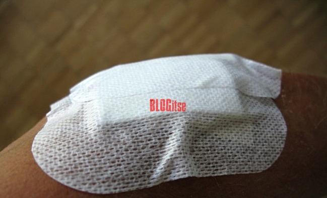 a bandage on my arm by BLOGitse