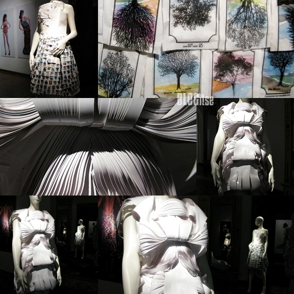 fashion in paper in Madrid by BLOGitse