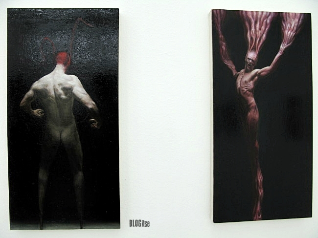 artist Ville Löppönen's works in gallery Kalhama&Piippo by BLOGitse