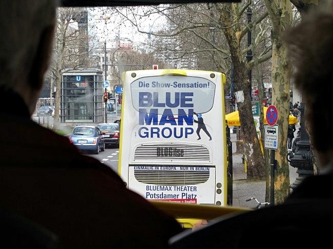 Blue Man group in Berlin by BLOGitse