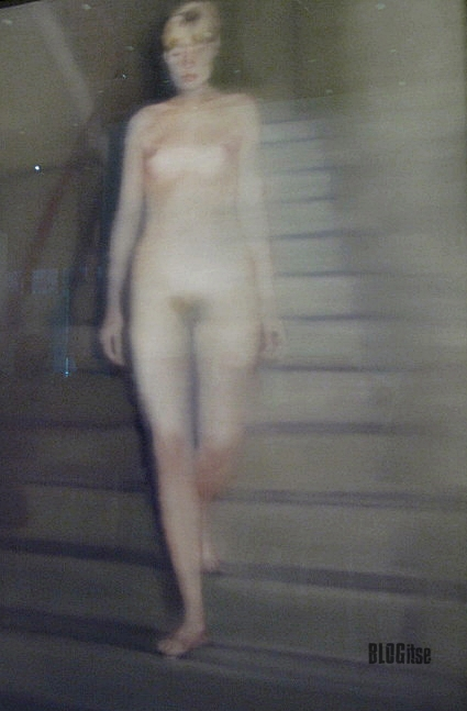 Richter's Ema, Nude on a Staircase, by BLOGitse