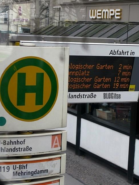 public transportation works in Berlin by BLOGitse