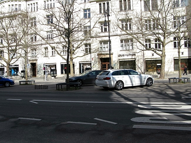 shopping street Kurfürstendamm, Berlin by BLOGitse