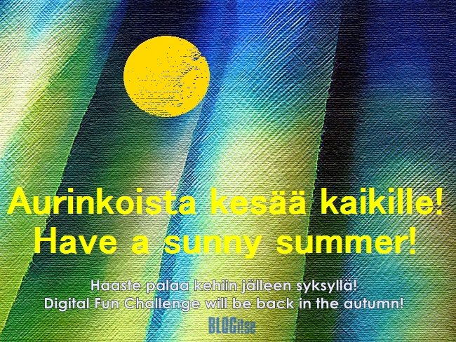 Digital Fun Challenge #42 'summer 2012' by BLOGitse