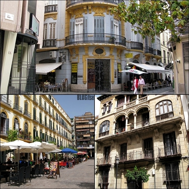 beautiful houses in Malaga Spain by BLOGitse