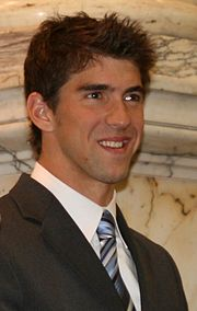 Michael Phelps, April 2009 wikipedia
