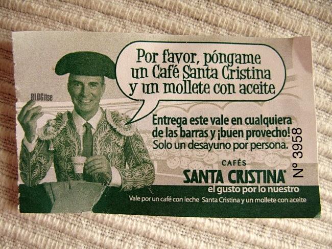 free entrance, café promoción plaza de toros Málaga, España by BLOGitse
