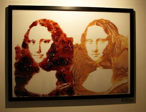 Vik Muniz, Double Mona Lisa, 1999 shot by BLOGitse