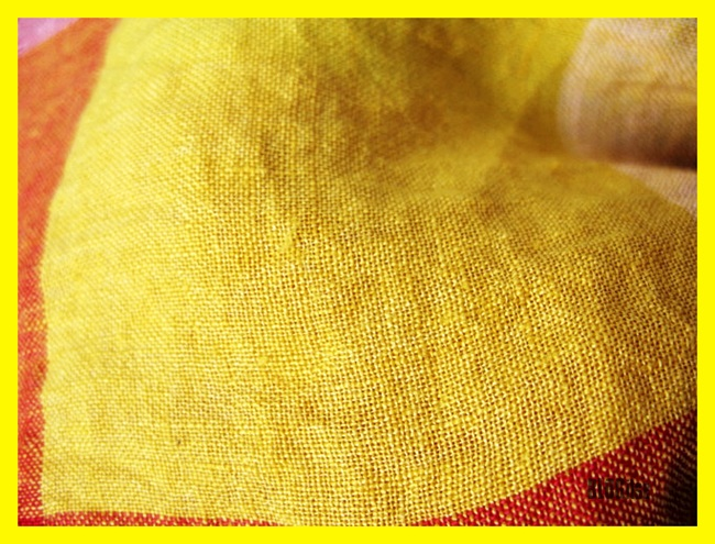 fabric, yellow, by BLOGitse