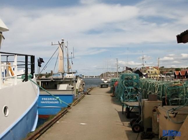 lobster traps in Havstenssund Sweden by BLOGitse