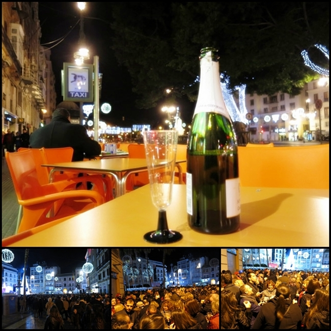 it's new year 2014 in Malaga city by BLOGitse