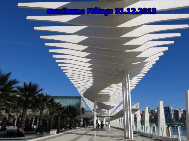 muelleuno Malaga 31.12.2013 by BLOGitse