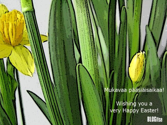 mukavaa pääsiäistä happy easter by BLOGitse