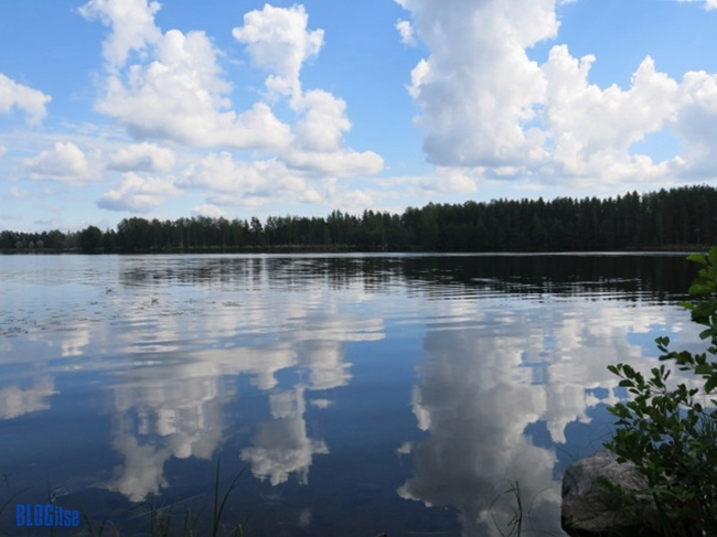 Lake Saimaa Finland by BLOGitse