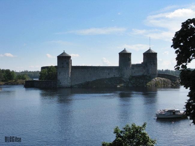 Olavinlinna castle, Savonlinna, Finland by BLOGitse