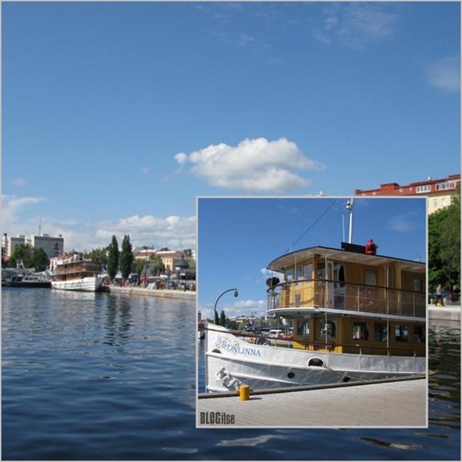 steamboats in Savonlinna, Finland by BLOGitse