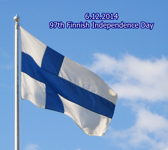 Finnish 97th Independence Day 6.12.2014 by BLOGitse