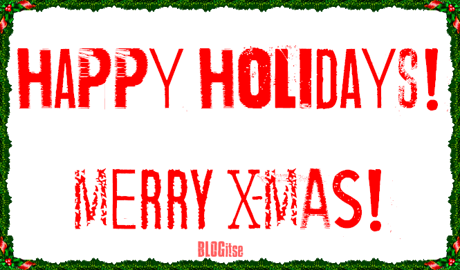 Happy Holidays Merry xmas by BLOGitse