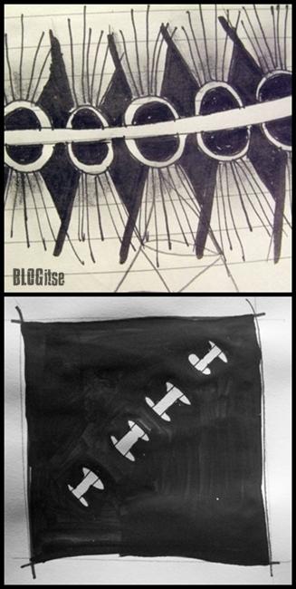 doodling zentangles by BLOGitse