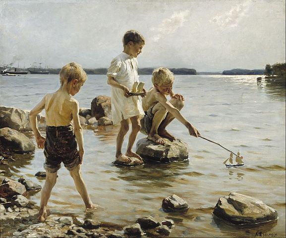 577px-Albert_Edelfelt_-_Boys_Playing_on_the_Shore_-_Google_Art_Project