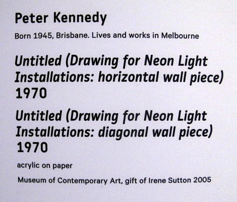 Peter Kennedy art info by BLOGitse
