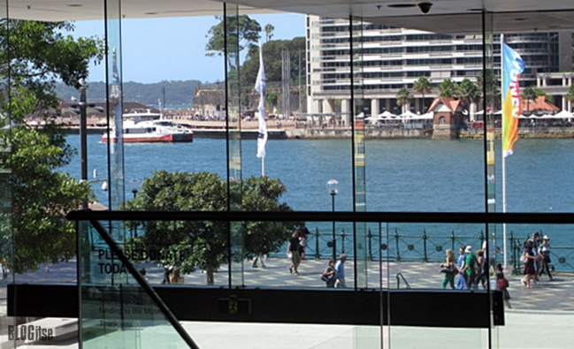 view from MCA Sydney Australia by BLOGitse
