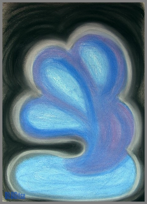 abstract pastel painting by BLOGitse