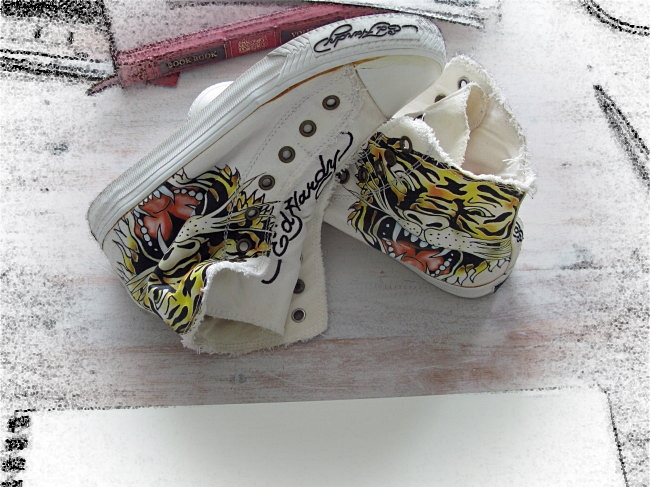 shoes for painting by BLOGitse