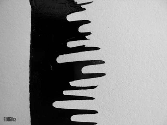 detail_1 black ink lines by BLOGitse