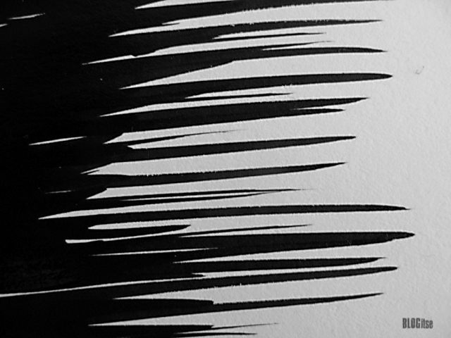 detail_2 black ink lines by BLOGitse