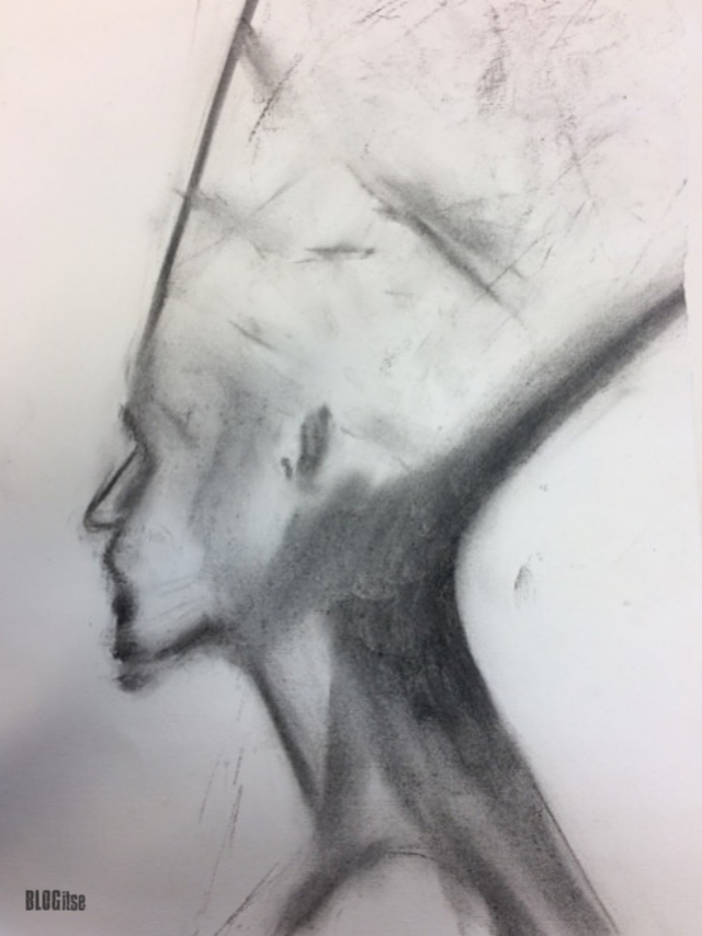 nefertiti-charcoal_1-by-blogitse