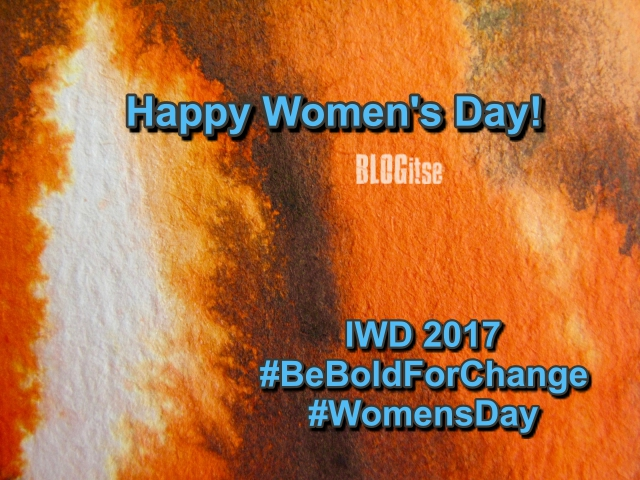 IWD2017 Intl Women's Day by BLOGitse