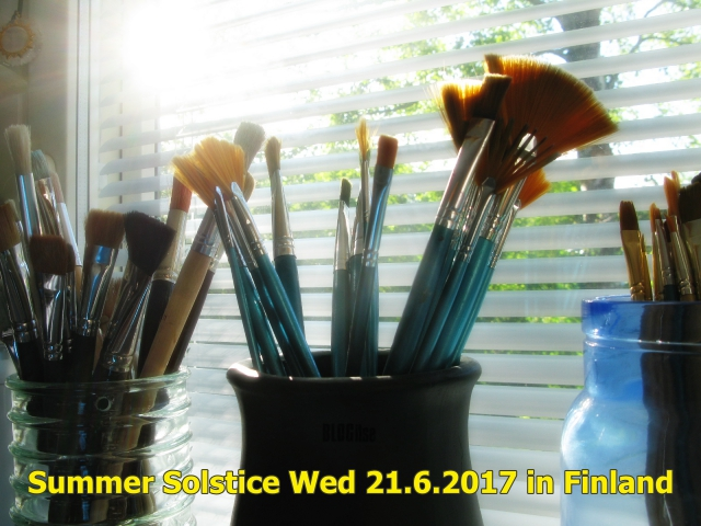 Summer Solstice Wed 21.6.2017 in Finland by BLOGitse
