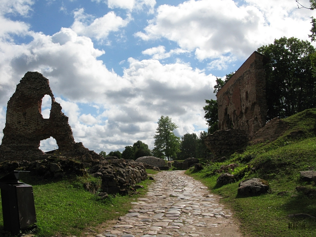 Ruins of the Viljandi Order Castle_4 by BLOGitse