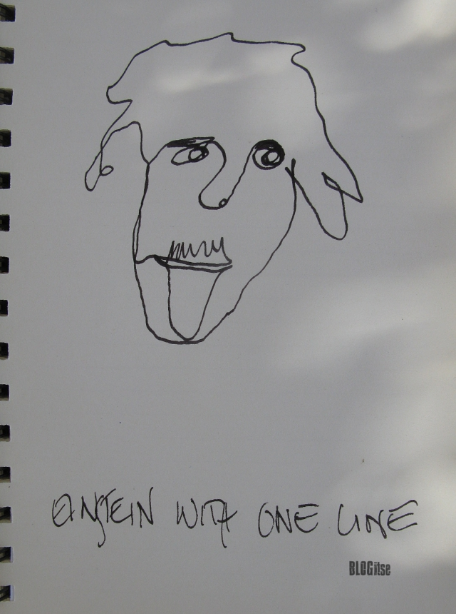 http://www.blogitse.com/wp-content/uploads/2017/09/Einstein-with-one-line-by-BLOGitse.jpg
