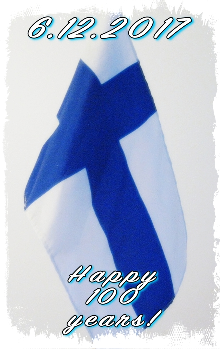 Suomi Finland 100 yrs by BLOGitse